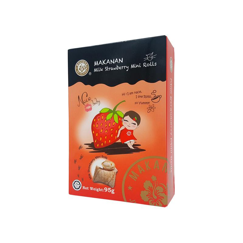 MAKANAN马卡兰 牛奶草莓味...