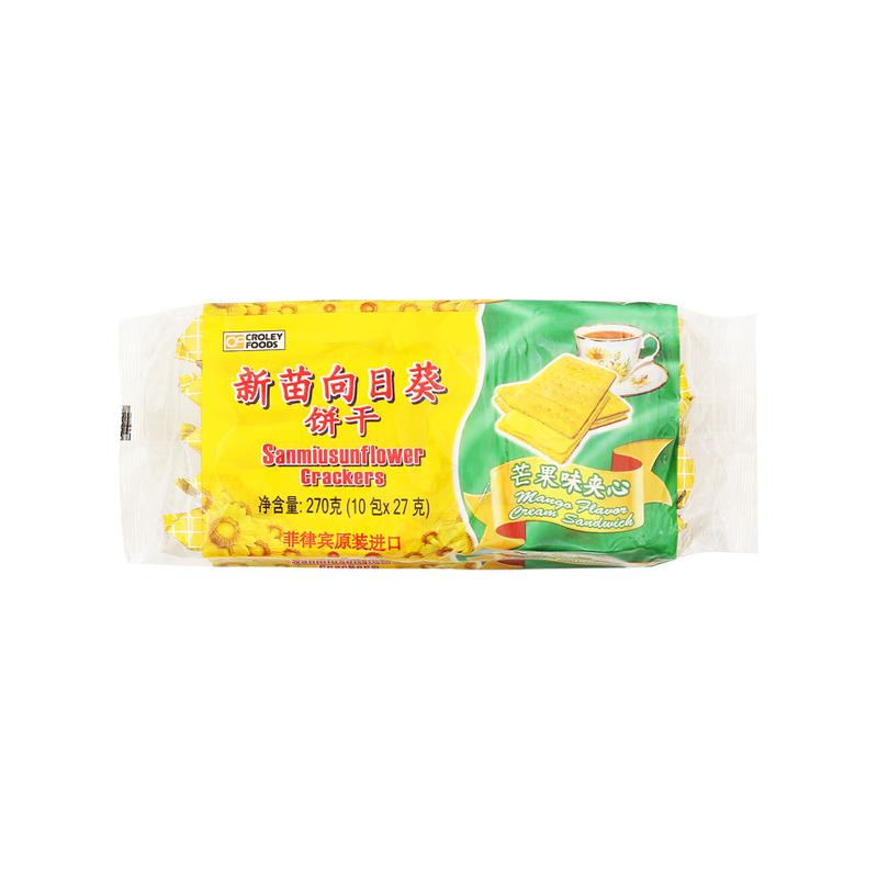 新苗 向日葵饼干芒果味 270g