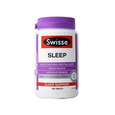 Swisse瑞思 植物精华睡眠片舒缓情绪缓解紧张 100粒