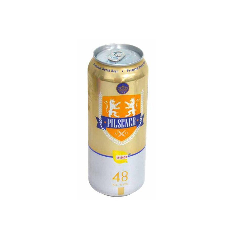 33D牌皮尔森啤酒500ml