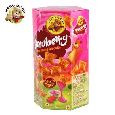 HAMU BEAR熊出没 夹心饼干   草莓味 200g