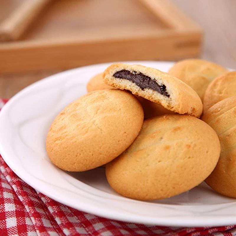 TATAWA 原味巧克力 软馅曲奇饼干 120g