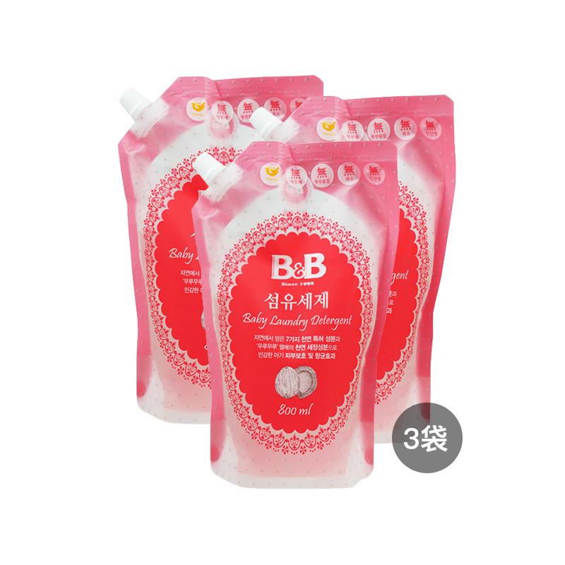 【3袋装】B&B保宁 婴幼儿洗衣...
