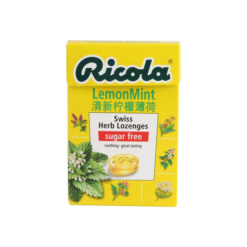 Ricola 利口乐 清新柠檬薄...