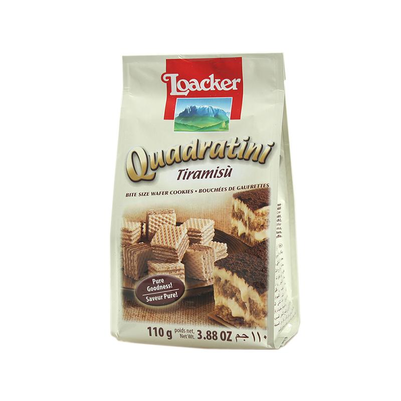 莱家提拉米苏味粒粒装威化饼饼干