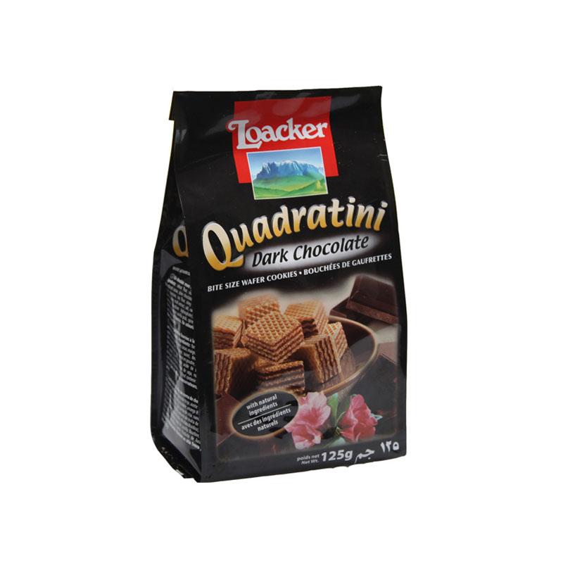 莱家黑巧克力味粒粒装威化饼饼干
