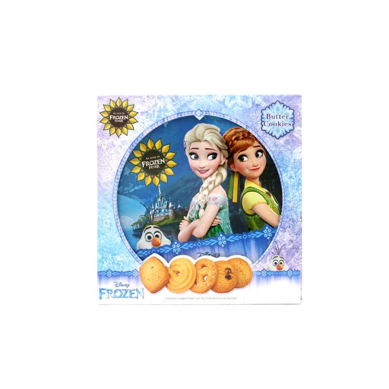 迪士尼黄油曲奇饼干冰雪奇缘228G