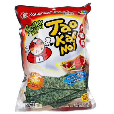 TAO KAE NOI 小老板 脆紫菜  辣香味  36g