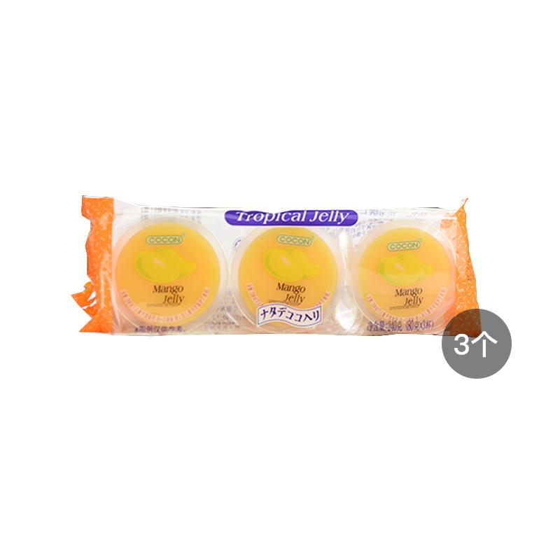 【3个装】可康 芒果味果冻 含椰...
