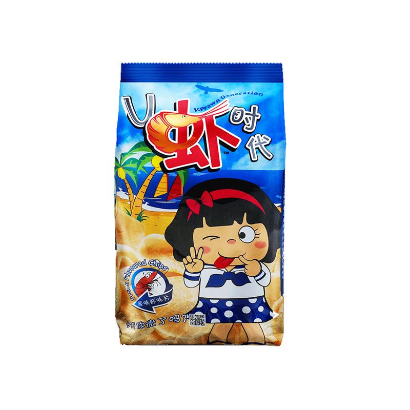 V虾时代 原味虾味片 70g