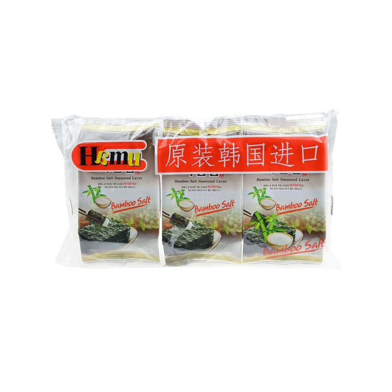 HAMU 竹盐紫菜 5g*3