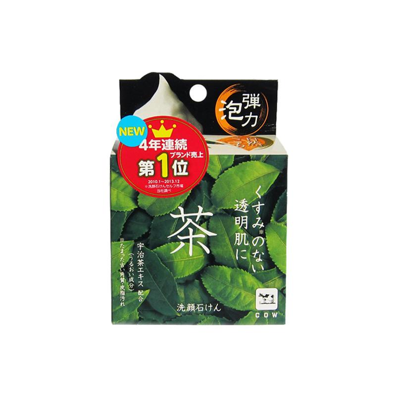 COW牛牌 石碱抹茶洁面皂 80...