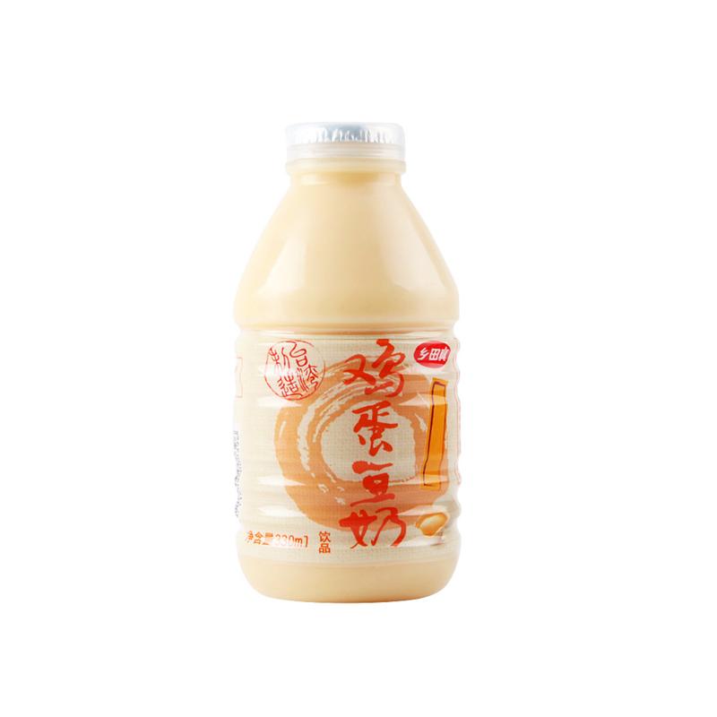 乡田真 鸡蛋豆奶 330ml
