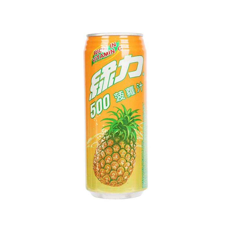 绿力菠萝汁490ml 果汁饮料
