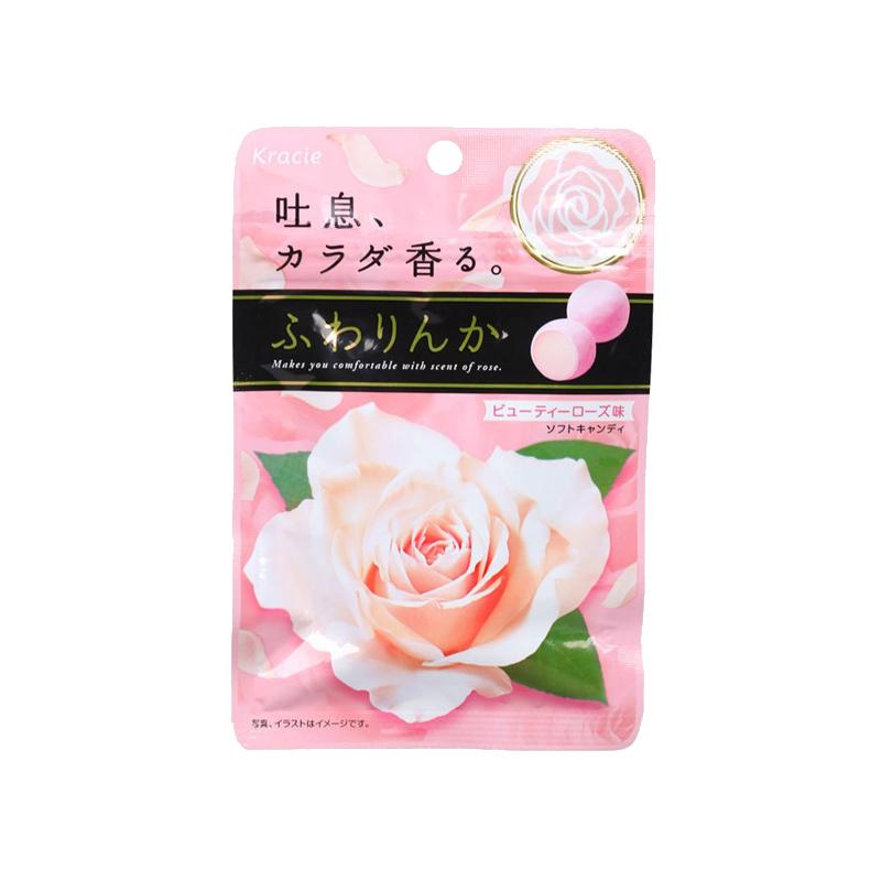 嘉娜宝玫瑰香味香体糖果32G
