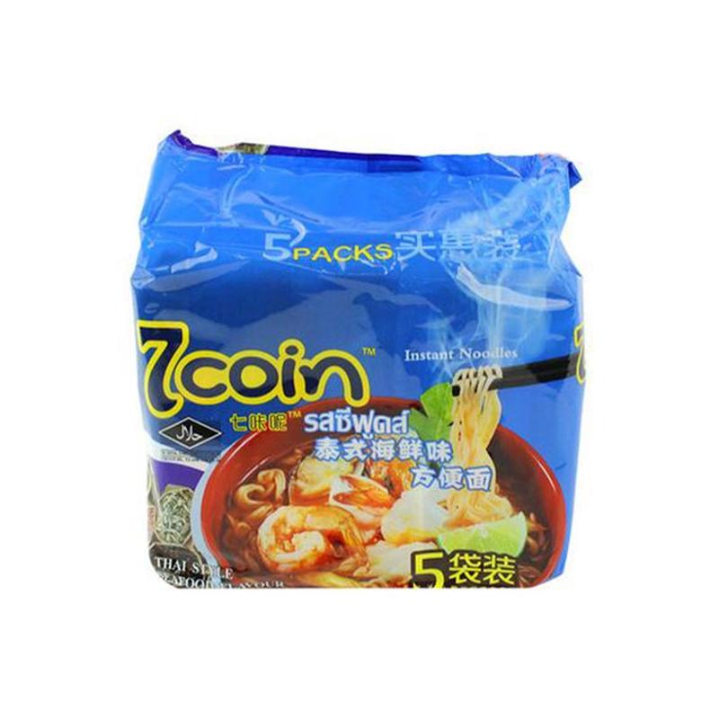 7coin 泰国方便面(海鲜味)...