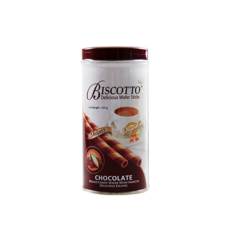 BISCOTTO 巧克力味卷心酥...