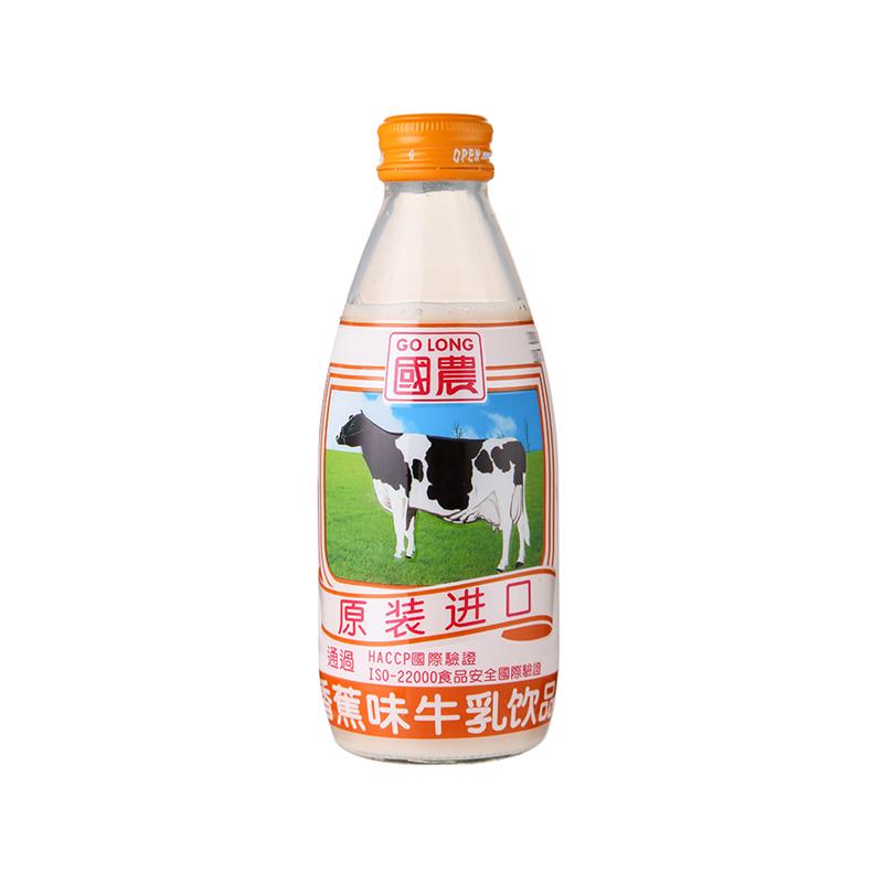 国农 香蕉味牛乳饮品 240ml