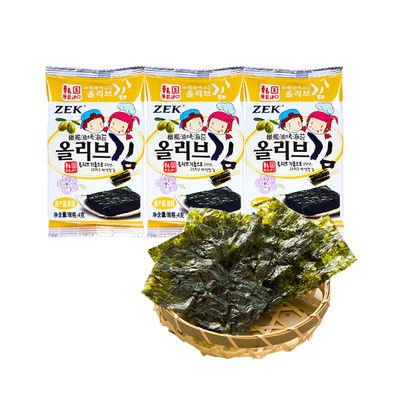 【3包装】 ZEK 橄榄油烤海苔 4g